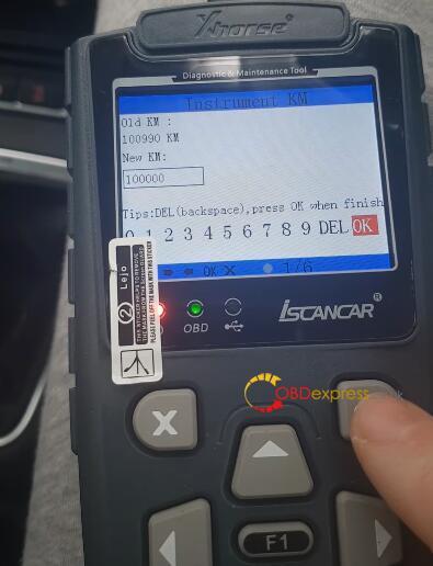 Xhorse Iscancar VAG MM007 Mileage Correction MQB 9