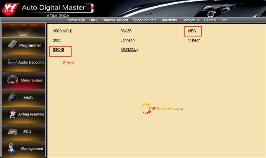 Digimaster 3 Renault Megane 2 Phase 2 Mileage Programming 05