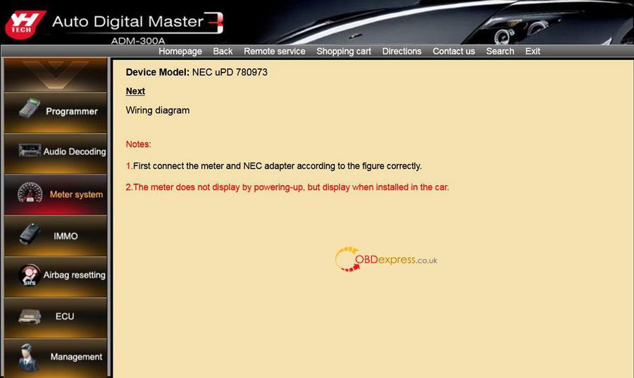 Digimaster 3 Renault Megane 2 Phase 2 Mileage Programming 07
