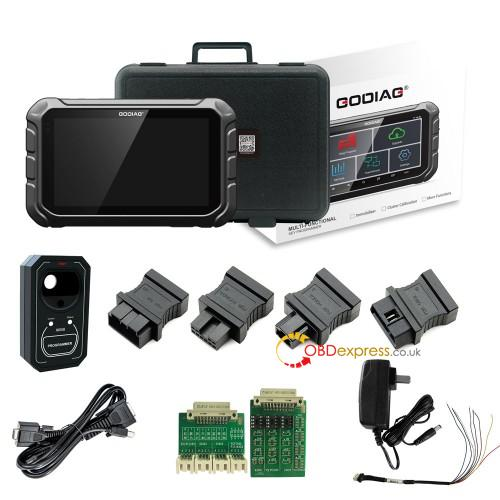 GODIAG GD801 OBD odometer correction tool function support vehicle list
