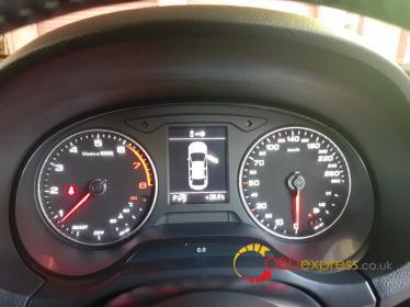 2017 Audi A3 dashboard