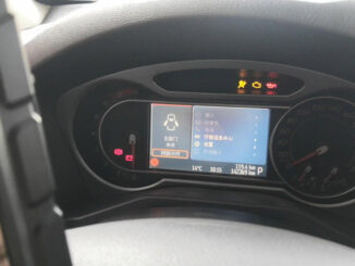 """Hook GODIAG GD801 up to 2008 Ford Mondeo for mileage correction via OBD. It has been driving for many years, reaching 142369KM, and it only takes 5 minutes to correct it.  Look at 2008 Ford Mondeo with 142369KM:  And turn on GODIAG GD801, as you can see, it has options: Diag Program, Update, My data, Teamviewer, settings. And there are 6 options at the bottom line. I tap """" Diag Program"""".  Cluster calibrate -> Ford /Lincoln -> Ford / Lincoln V30.92 -> Ford -> Mondeo -> 2007-2010-> 4 Pointer Color Meter -> Mileage Calibration -> Read note -> Input a new mileage value for example 142000 -> Calibration complete -> and you will see the new value on the dash.  GODIAG GD801 is done a great job!"""